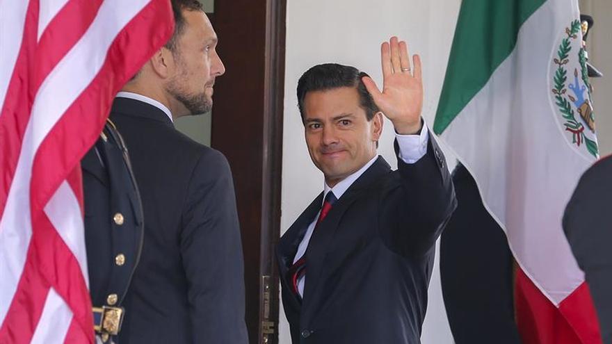 Obama y Peña Nieto se reúnen en la Casa Blanca