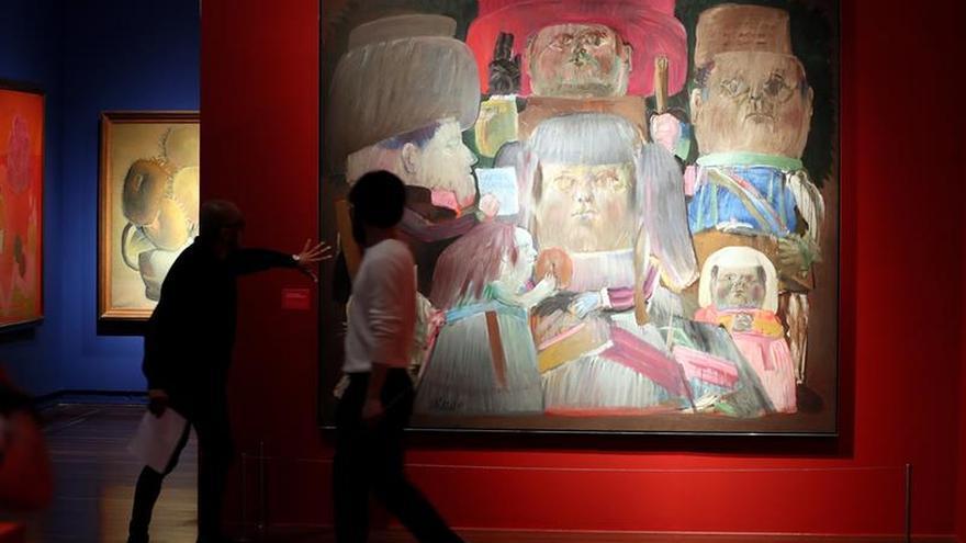 El Museo Nacional de Colombia explora la lucha de Botero contra los moldes