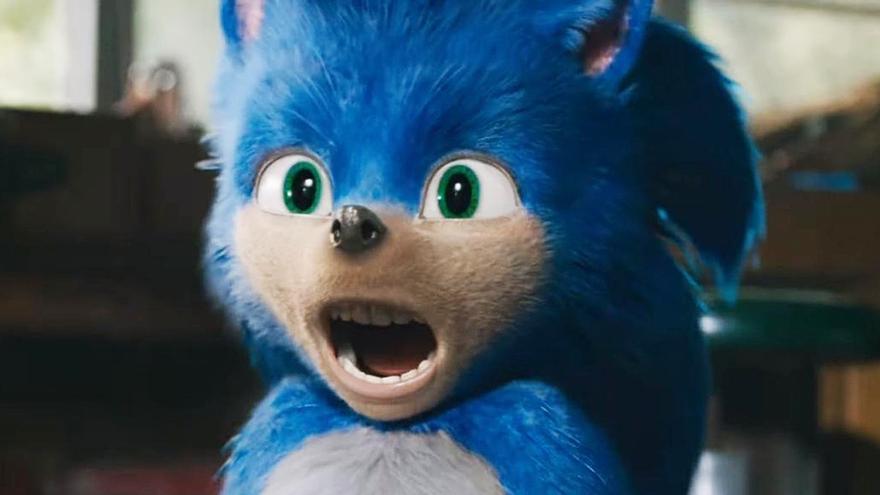 Fotograma del primer tráiler de 'Sonic, la película'
