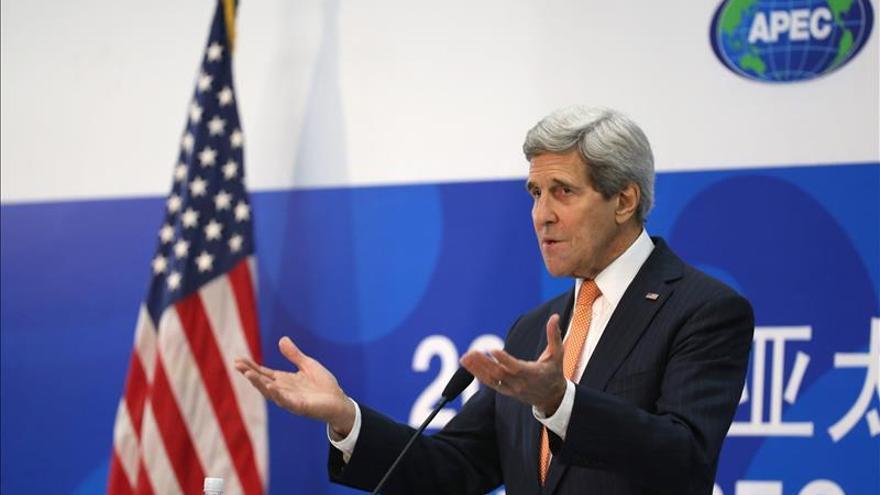 """Kerry dice que """"no nos sentimos intimidados por el Estado Islámico"""""""