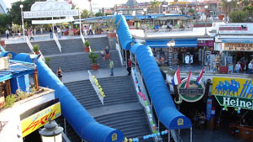 Centro comercial Plaza, en Maspalomas. (CANARIAS AHORA)