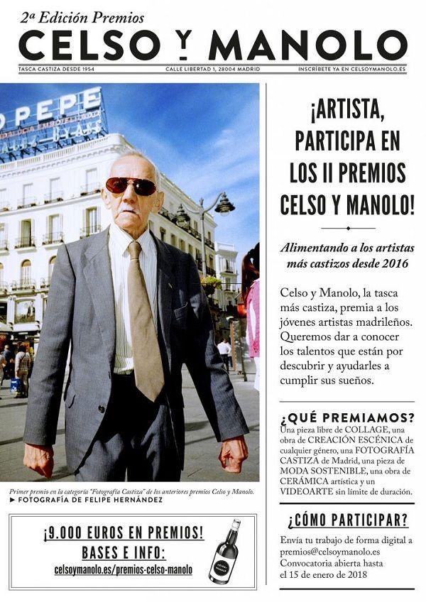 Cartel II Premios Celso y Manolo