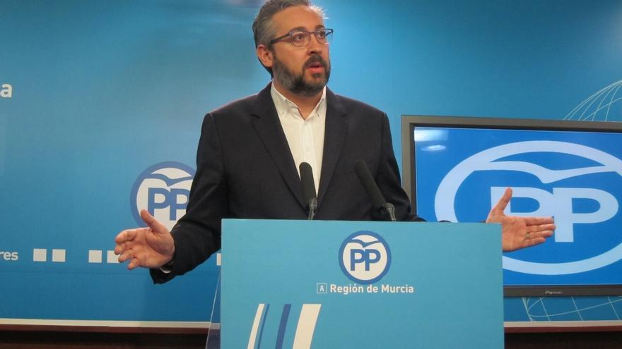 El PP insiste en que su un único plan es Pedro Antonio Sánchez y no baraja moción alternativa
