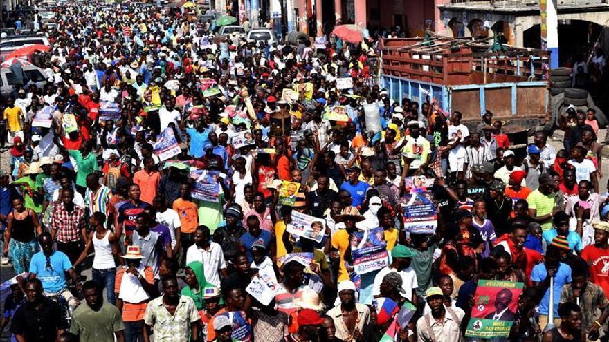 Segunda jornada de protestas contra los datos electorales en Haití