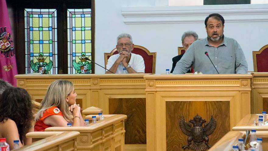Javier Mateo en el Debate del Estado del Municipio