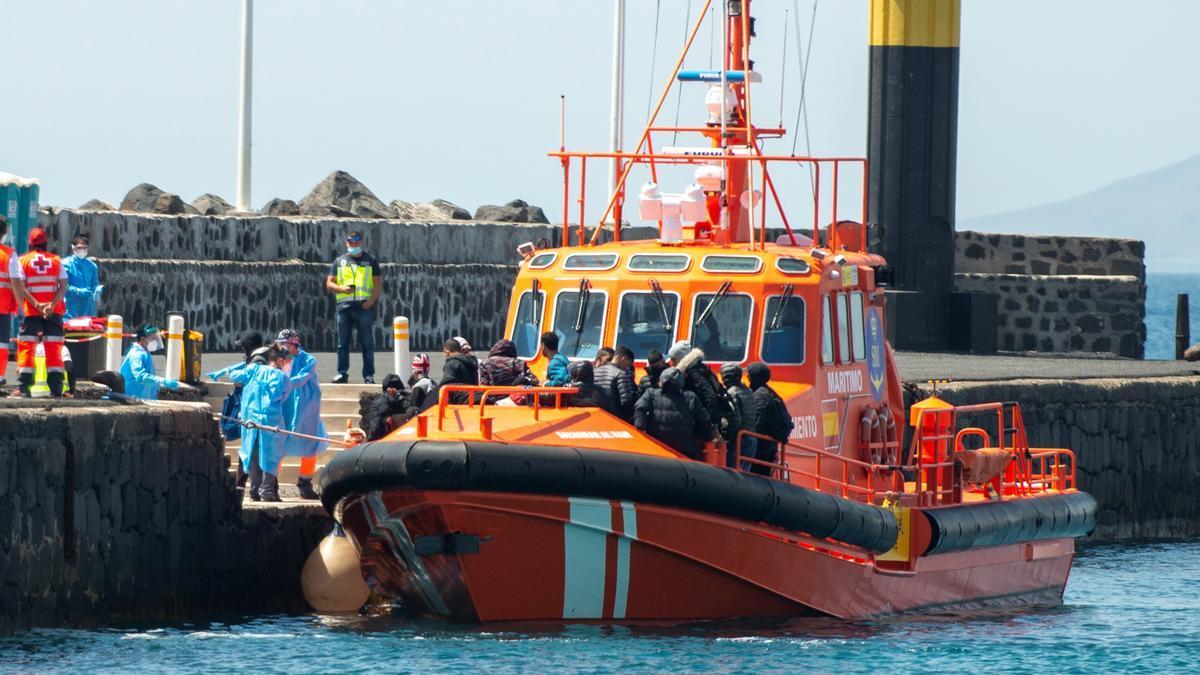 La Salvamar Al Nair de Salvamento Marítimo. EFE/Javier Fuentes/Archivo