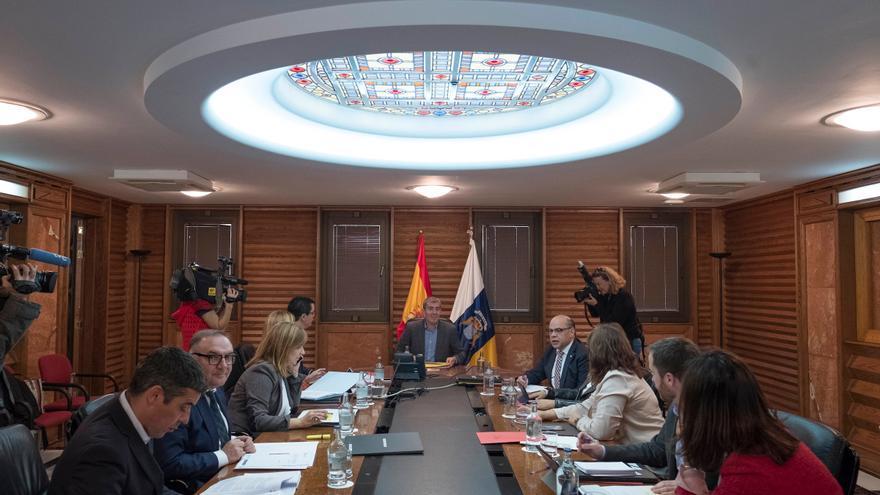 Consejo de Gobierno de Canarias celebrado este lunes.
