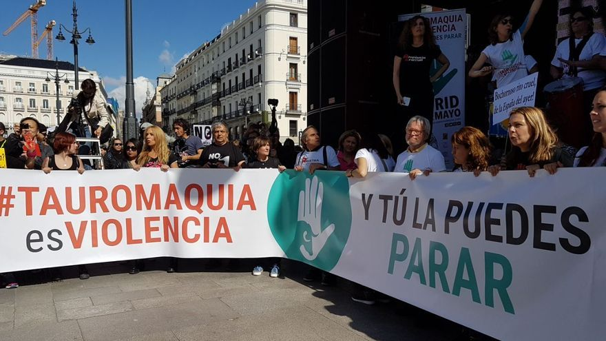 Manifestación antiraurina