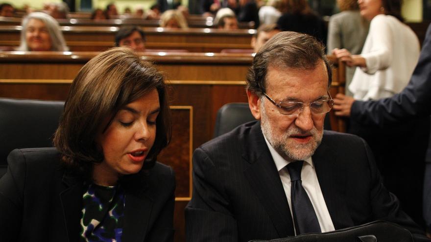 Los votantes del PP valoran más a Sáenz de Santamaría que a Rajoy, que apenas supera a Rivera