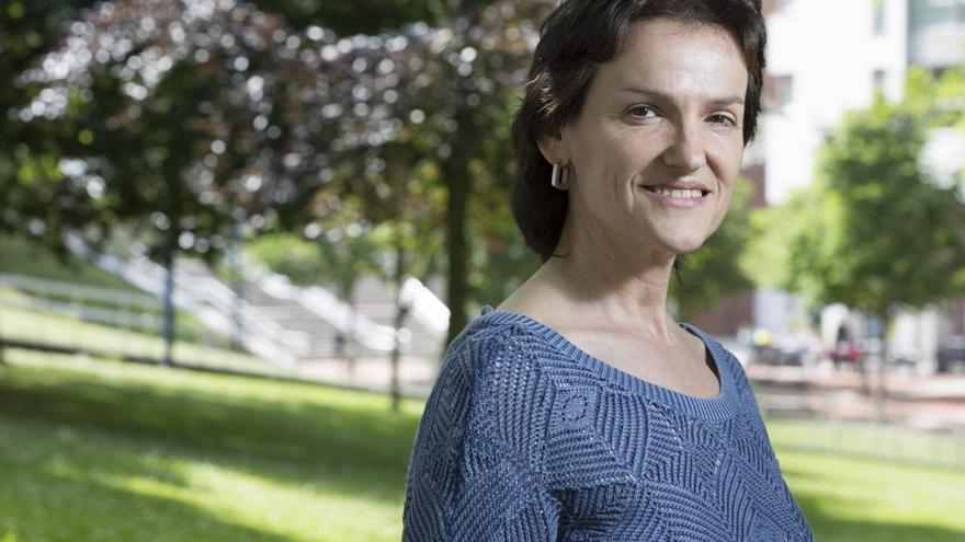 Isabel Salud, coordinadora general de Ezker Anitza (IU) y diputada por Gipuzkoa en el Congreso.