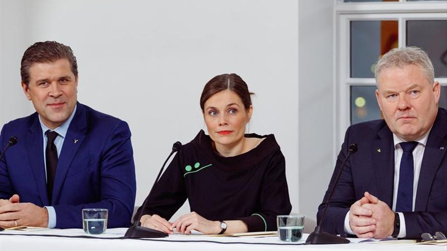 Rojiverdes, conservadores y centristas formarán gobierno en Islandia