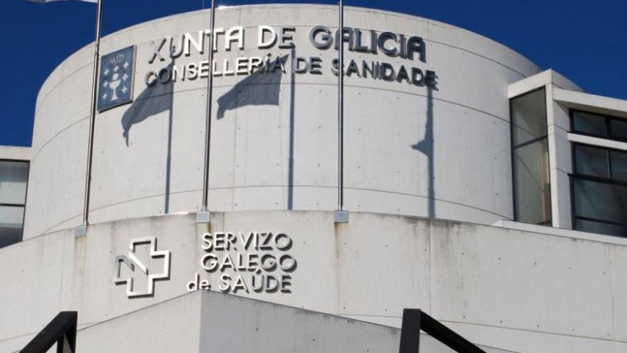 Sede de la Consellería de Sanidade de la Xunta y del Servizo Galego de Saúde (Sergas)