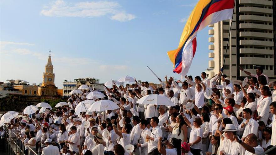 Comienza el acto de la firma de la paz de Colombia