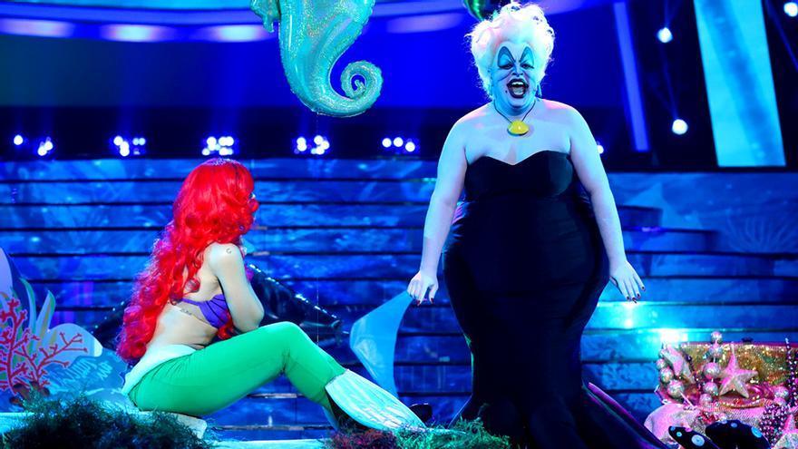 Brays Efe clava a la malvada Úrsula de La sirenita, su mejor actuación en TCMS