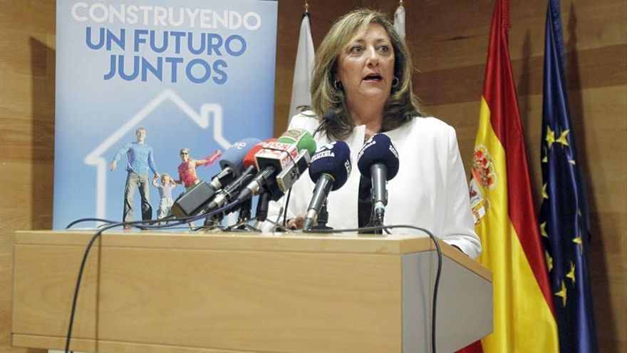 La presidenta de la Asociación Canaria del Alquiler Vacacional, Doris Borrego. EFE/Cristóbal García