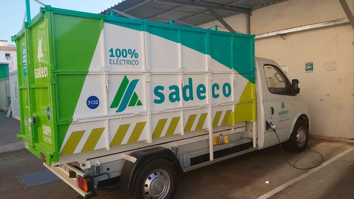 Nuevo vehículo eléctrico de Sadeco.