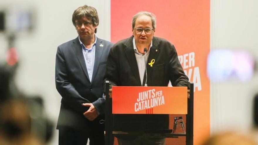 Torra dejará en manos del Parlamento catalán la decisión de abrir las prisiones