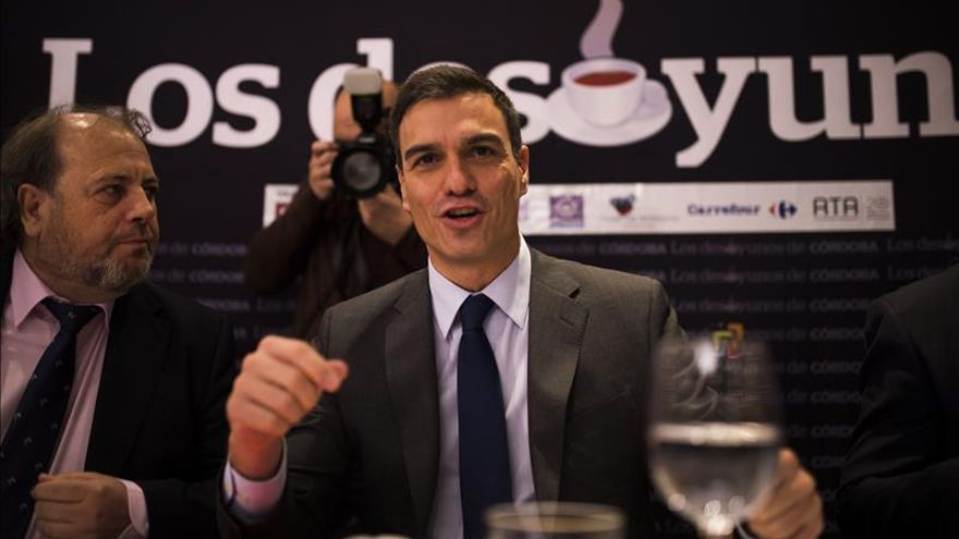 """Sánchez dice que """"no se puede ser observador"""" contra el terrorismo"""