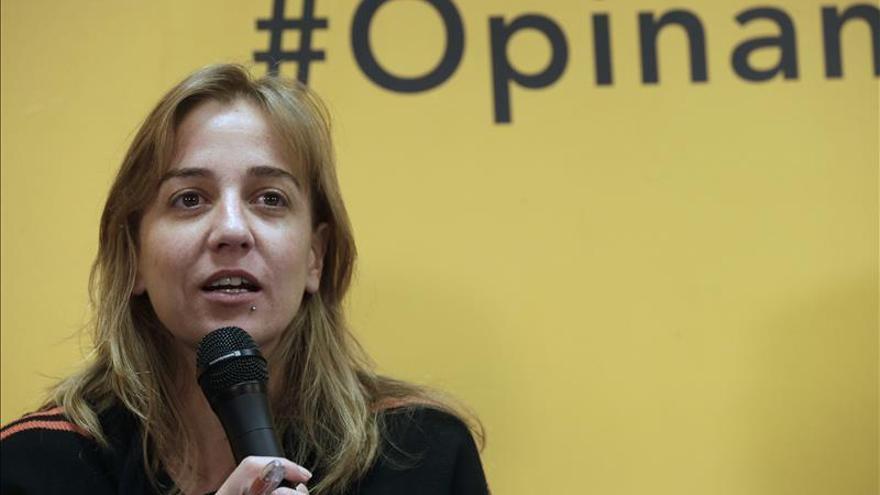 La diputada Tania Sánchez defiende su gestión y denuncia una campaña contra ella