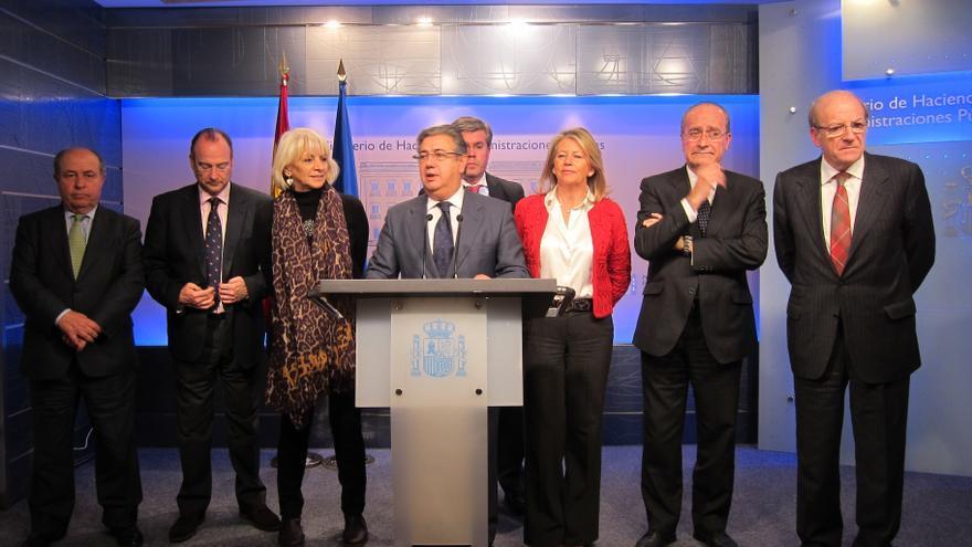 AMP-Montoro traslada a alcaldes andaluces que la reforma de la financiación local se abordará a la vez que la autonómica