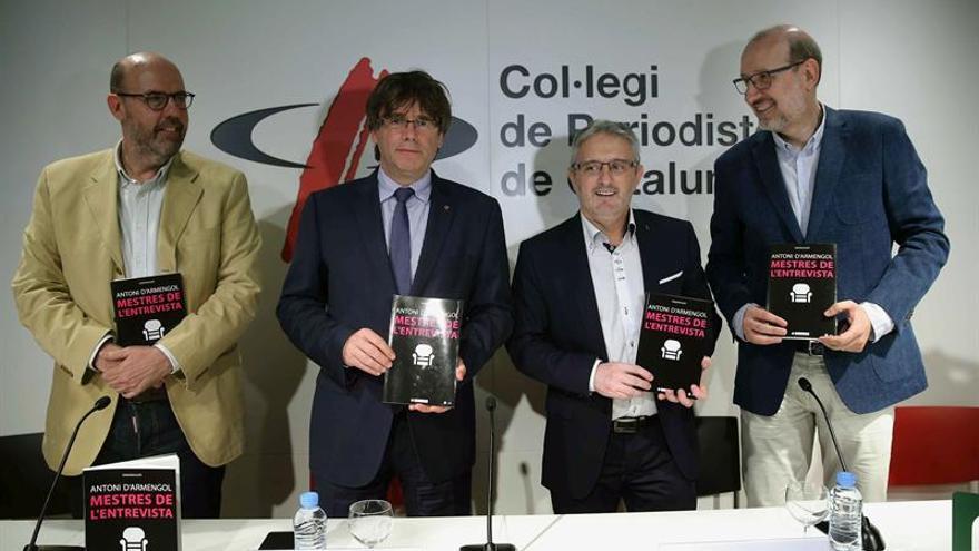 """Puigdemont ve un """"sistema carcomido"""" en el Estado por """"vicios"""" del pasado"""