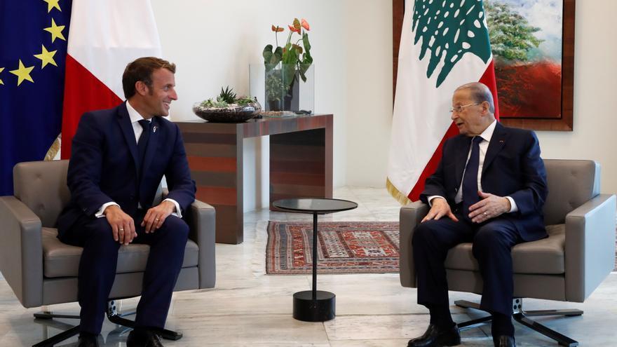 En el centenario del Líbano, Macron presiona en Beirut para formar Gobierno