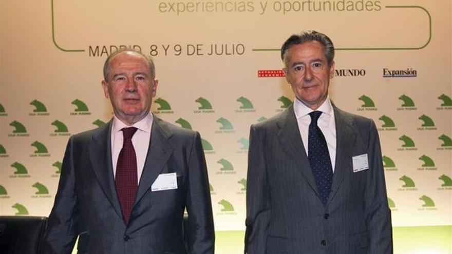 Rodrigo Rato y Miguel Blesa.