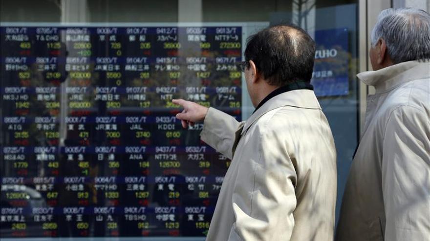 El Nikkei sube 182,33 puntos, el 1,72 por ciento, hasta 10.791,97 unidades