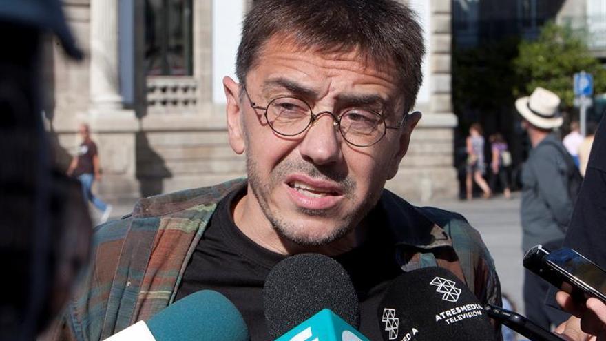 """Monedero será interrogado en el Senado por la """"conexión venezolana"""" de Podemos"""