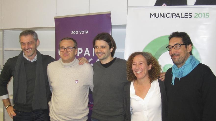 Urralburu, Carrasco, Sánchez Serna, Morales y Bermejo / ER