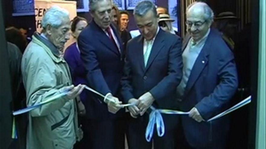 Paulino Rivero, en la reinauguración del Centro Archipiélago Canario en Buenos Aires. (ACFI PRESS)