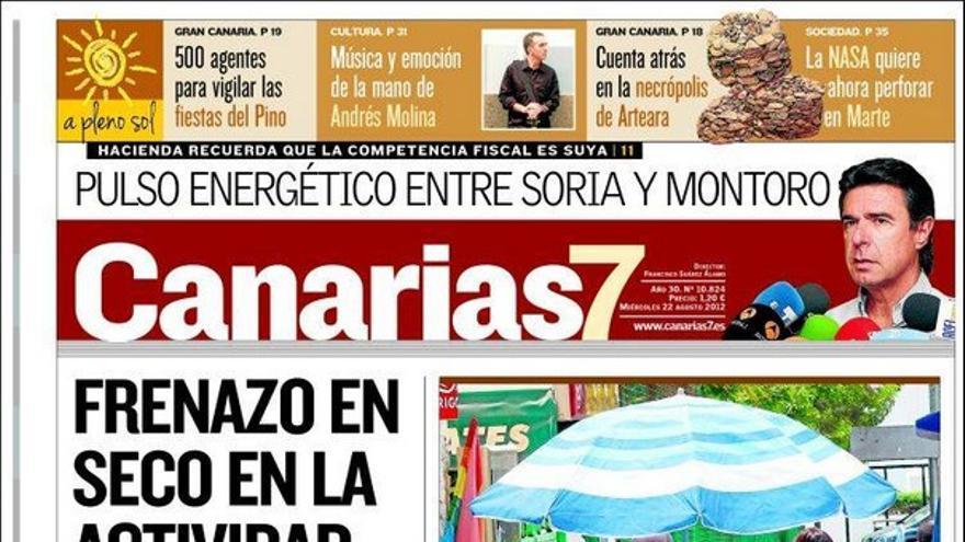 De las portadas del día (22/08/2012) #2
