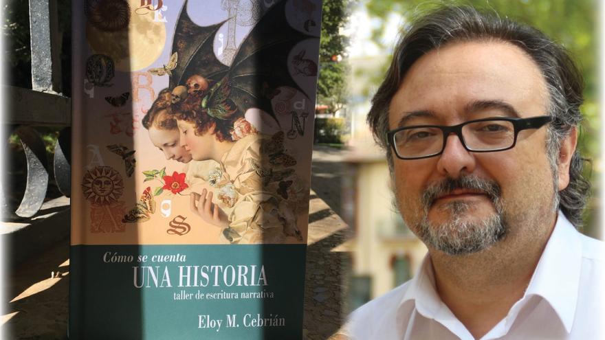 """Eloy M. Cebrián, escritor: """"Los libros están ahí para representarte, tú no importas"""""""