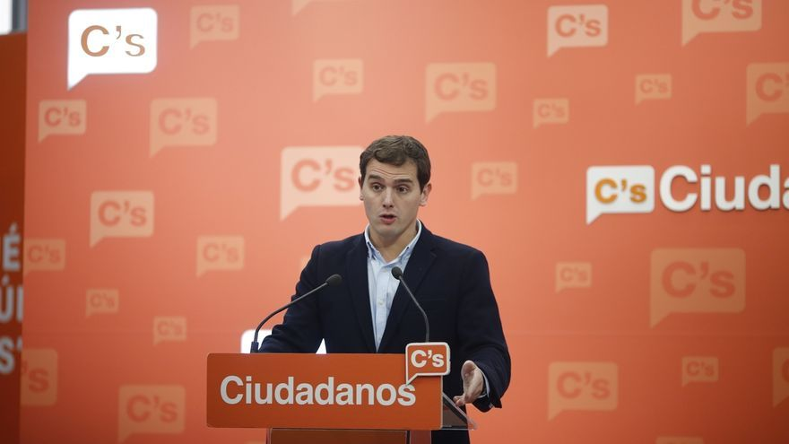 Rivera llama al alcalde de Burgos a negociar y dice que si quiere seguir deberá firmar unos compromisos programáticos