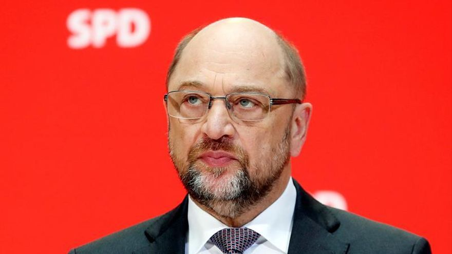 """Schulz niega un preacuerdo hacia una gran coalición y dice que hay """"otras opciones"""""""