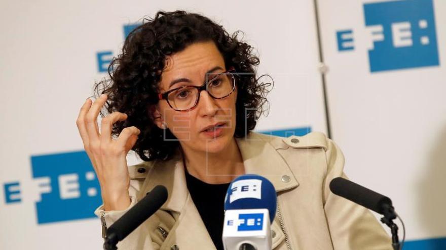 """Rovira defiende presión internacional que """"fuerce"""" Rajoy a aceptar resultados"""