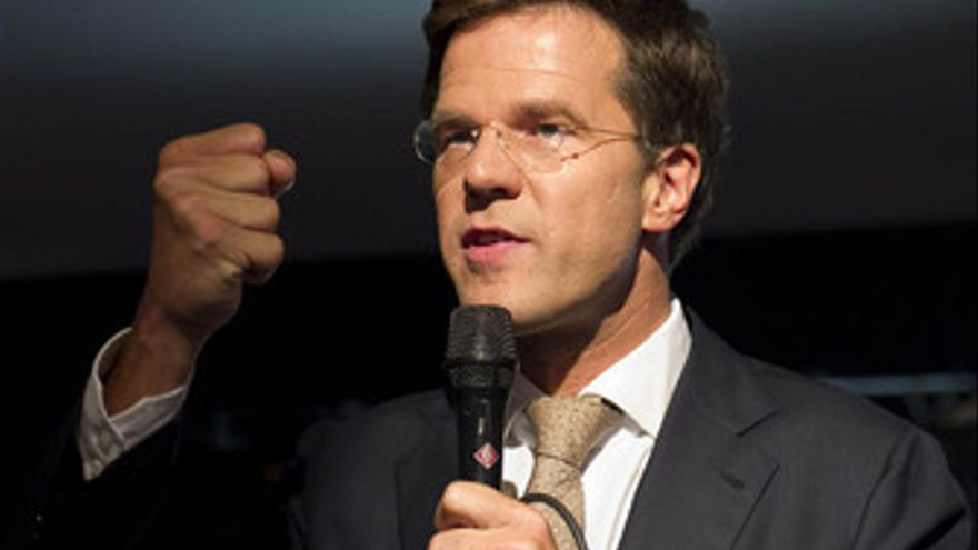 El líder del VDD, Mark Rutte. (EUROPA PRESS)