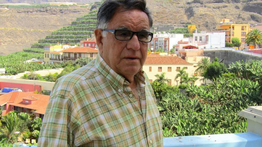 Talio Noda es un prestigioso especialista en cultura popular y tradiciones de Canarias. Foto: EUGENIO EGEA MOLINA.