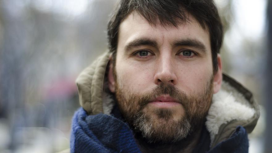 Daniel Jiménez autor de 'Cocaína' \ Foto: Alejandro Navarro Bustamante