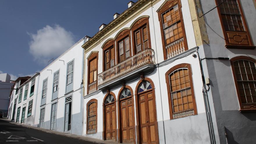 La 'Casa del Tabaco' en la Calle San  Sebastián de Santa Cruz de La Palma.