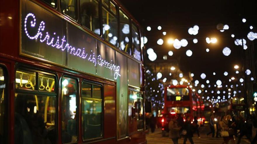 La londinense Oxford Street, una de las calles más contaminadas del mundo