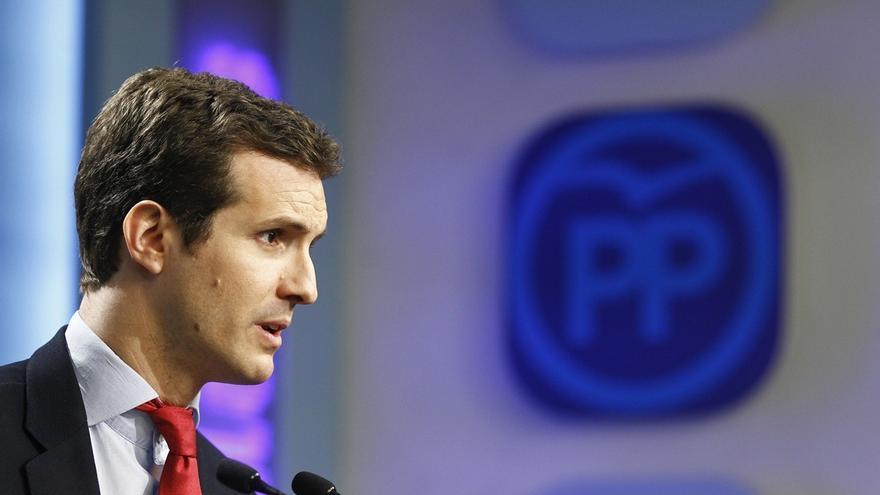 Casado (PP) afirma que la acusación popular contra Rajoy está motivada políticamente