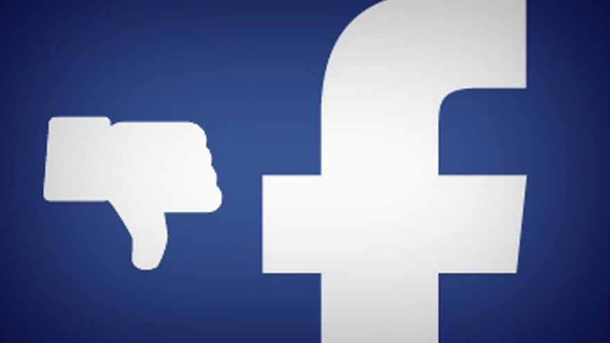 Facebook con dislike. Foto: Esther Vargas / Flickr