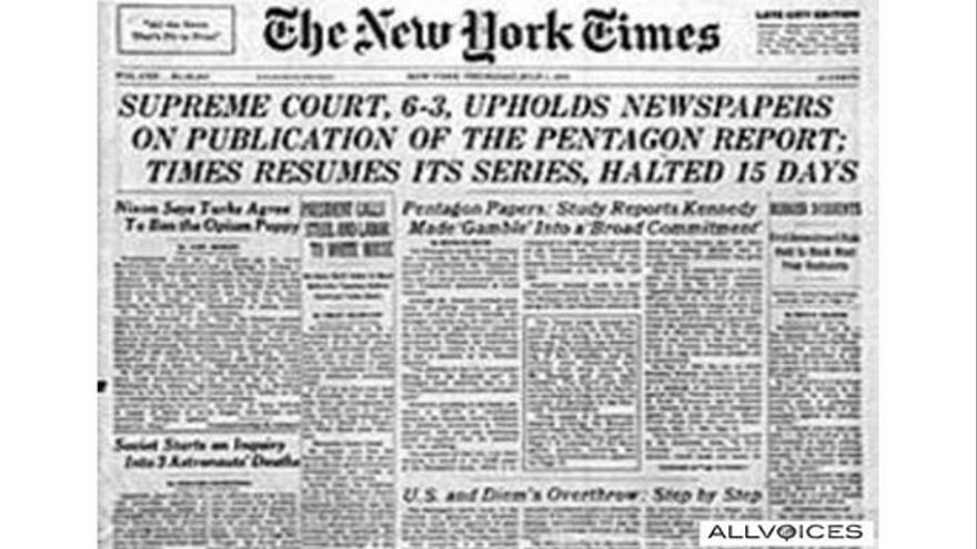 The New York Times informa del dictamen del Tribunal Supremo