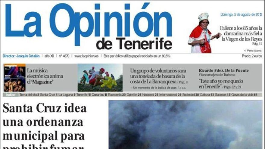 De las portadas del día (5/08/2012) #5