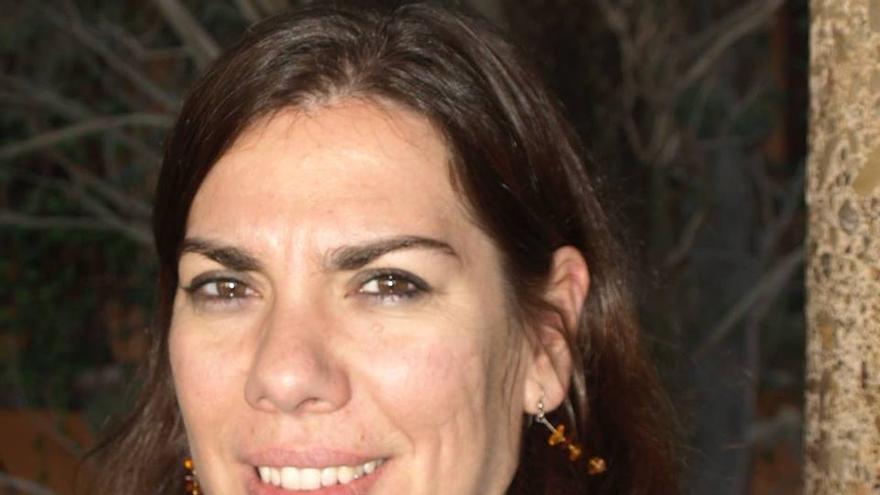 La escritora Conchi Moya