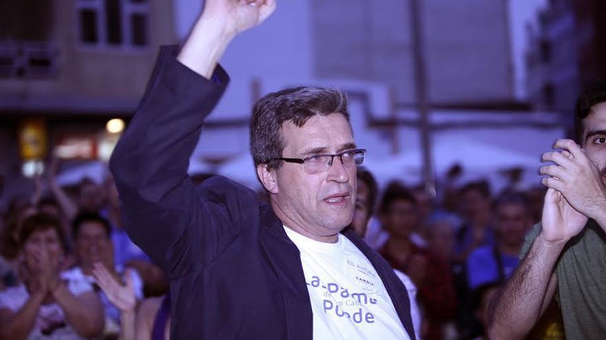 Javier Doreste, candidato de Las Palmas de Gran Canaria Puede a la Alcaldía. (ALEJANDRO RAMOS)