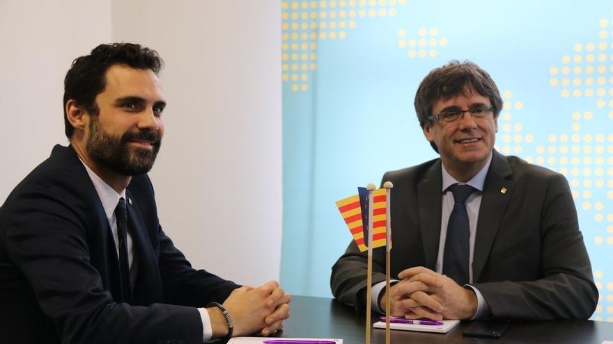 Torrent elude decir si ve viable que Puigdemont gobierne desde Bélgica y defiende un govern efectivo desde el minuto uno