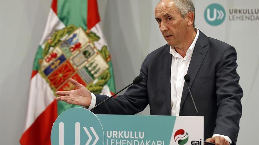 """El PNV buscará un acuerdo """"lo más integrador posible"""", según Erkoreka"""