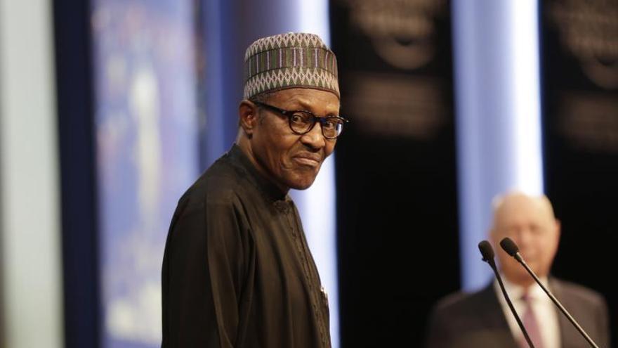 El presidente de Nigeria, Muhammadu Buhari.